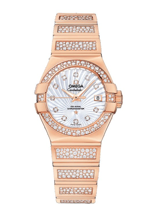 buy omega constellation gold 123 55 27 20 55 004