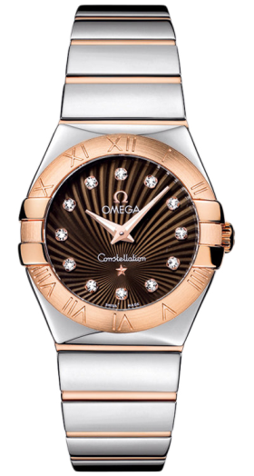 Omega Constellation Brown