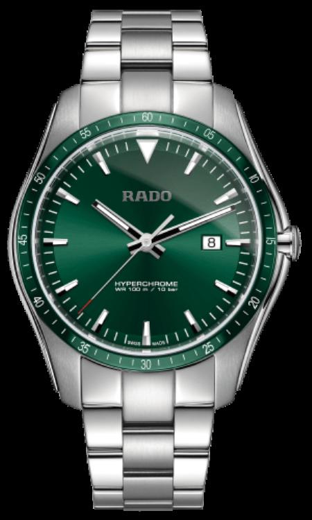 Rado Hyperchorme STEEL Green