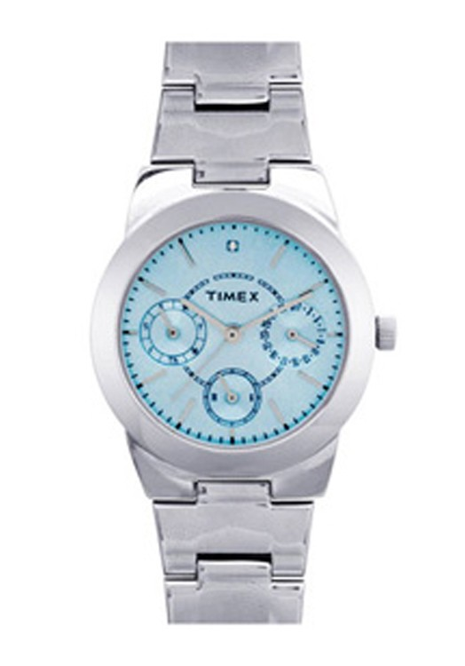 Timex E Class Light Blue By Malabar Watches