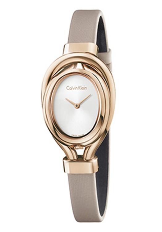 Calvin Klein Damenuhr Silver By Malabar Watches