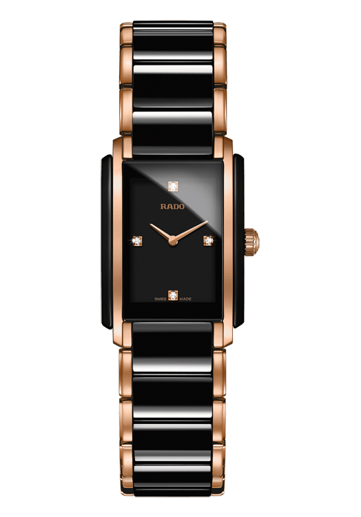Rado Integral Black Two Tone By Malabar Watches