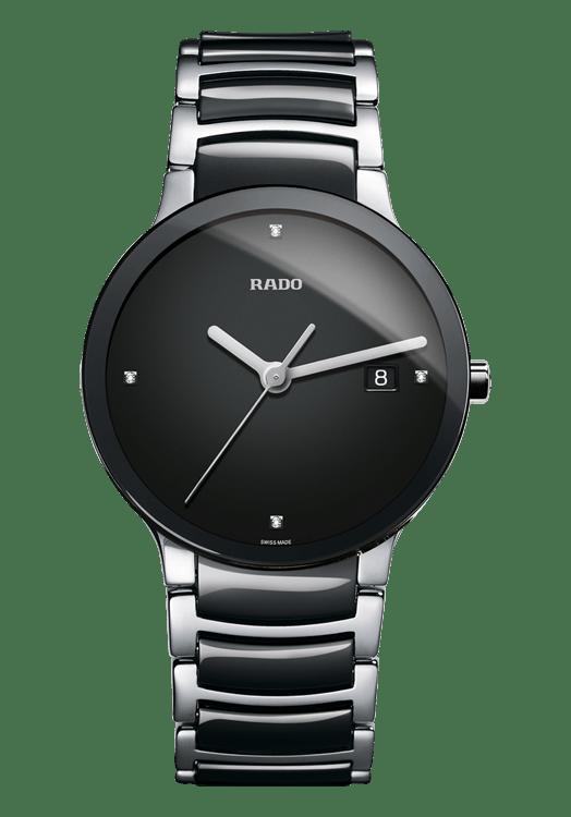 Rado Centrix Black Ceramic By Malabar Watches