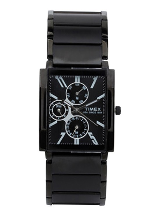 Timex E-Class Black By Malabar Watches