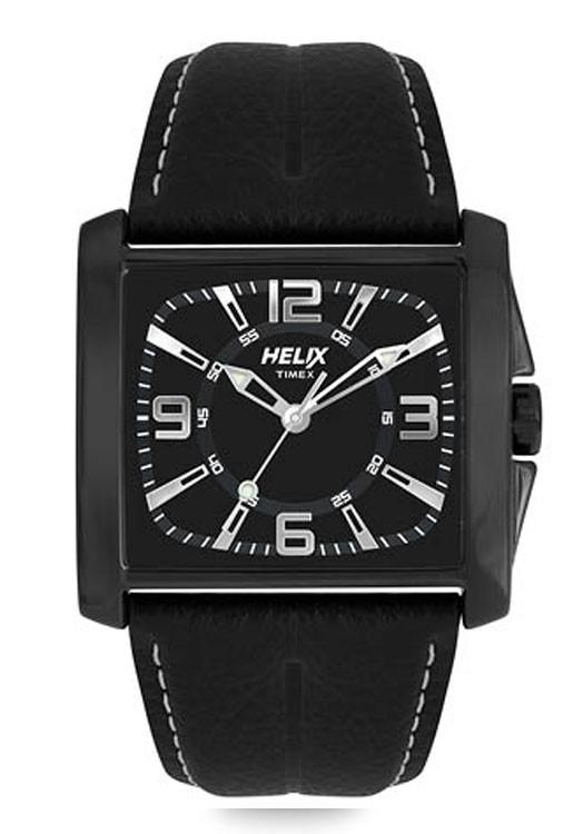 Timex Helix Matt Black By Malabar Watches
