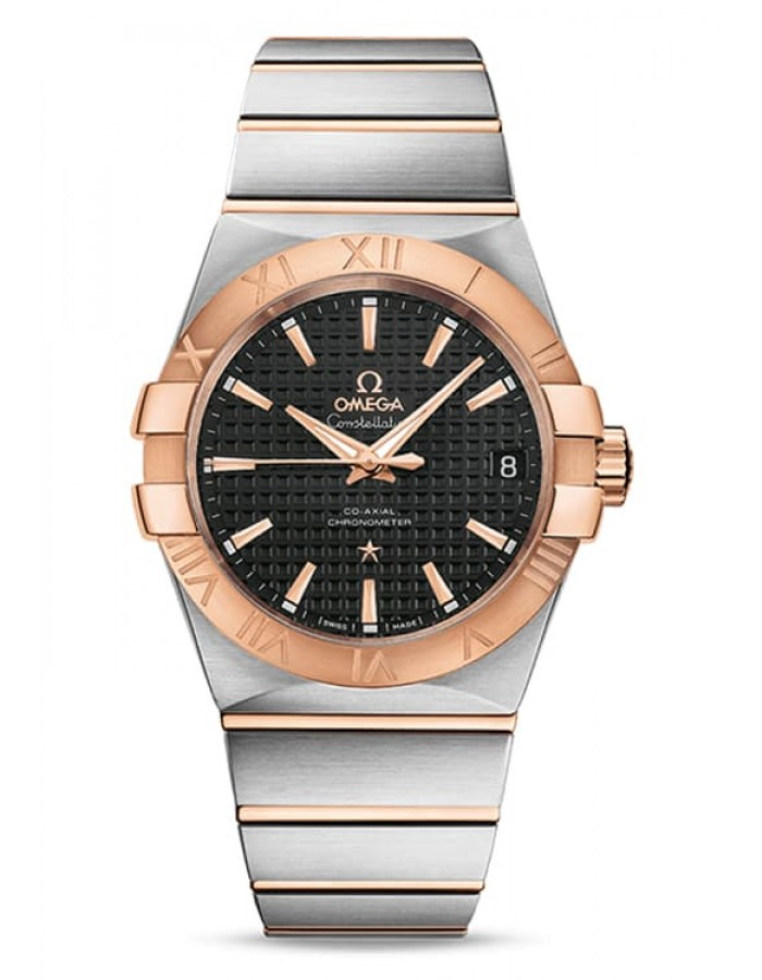 Omega Constellation Black By Malabar Watches