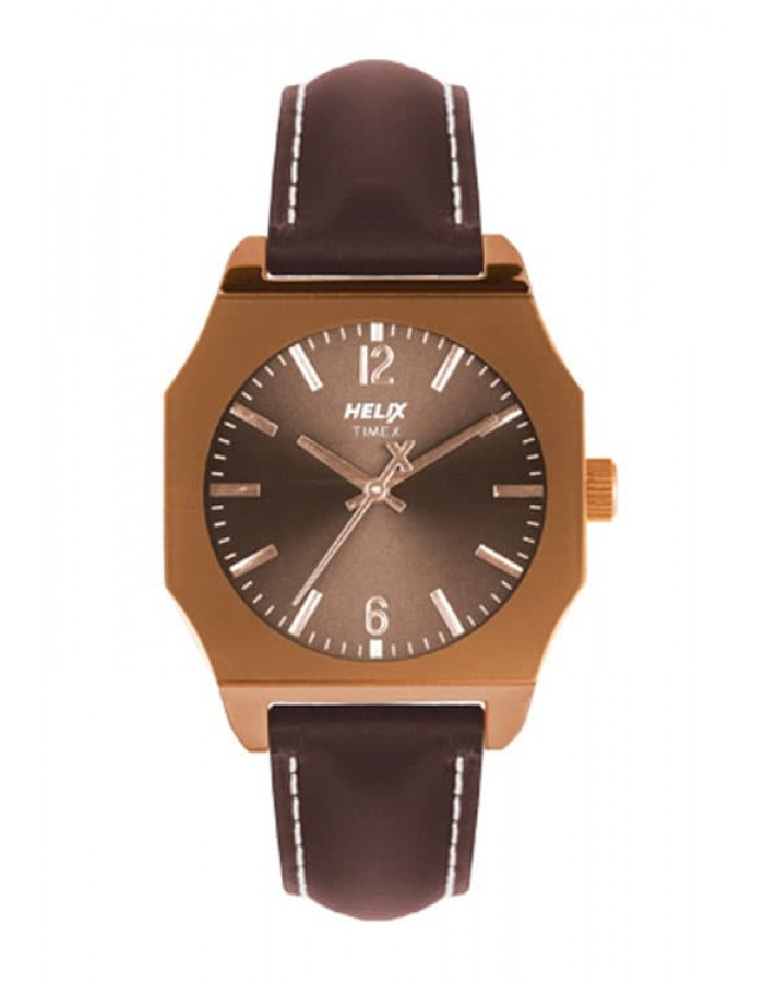 Timex Helix Master Brown By Malabar Watches