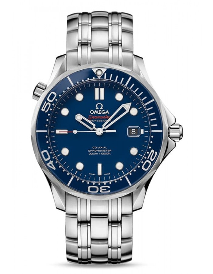 Omega Seamaster Diver Blue By Malabar Watches