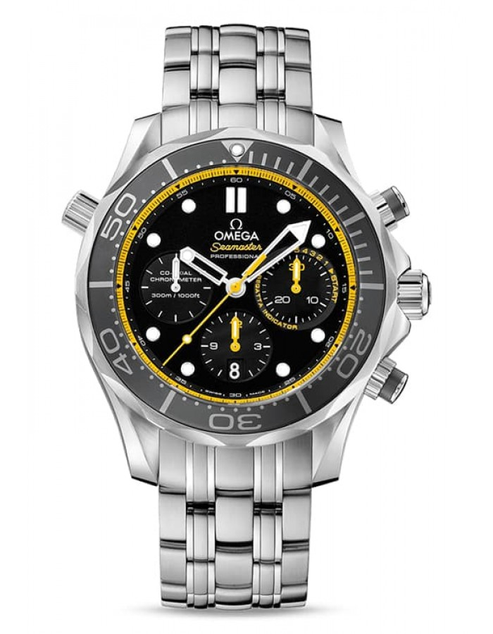 Omega Seamaster Diver Black (212.30.44.50.01.002) By Malabar Watches