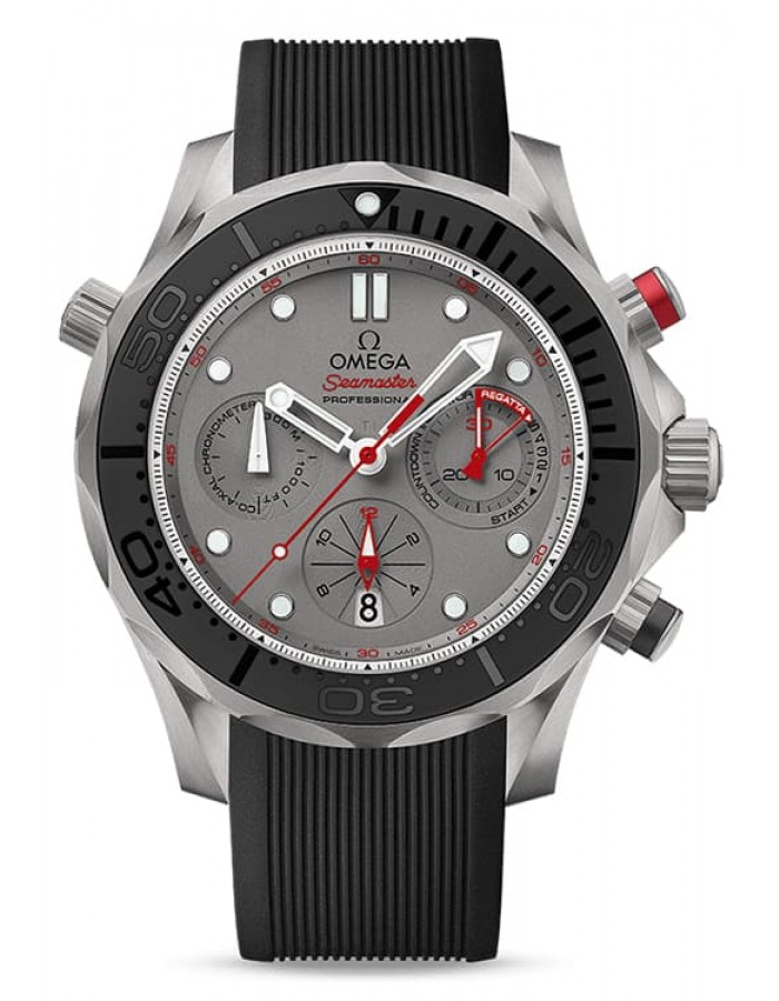Omega Seamaster Diver 300 M Grey By Malabar Watches