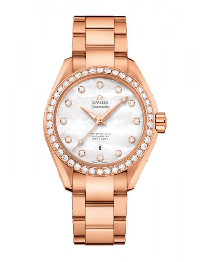 Omega Seamaster Aqua Terra Gold By Malabar Watches