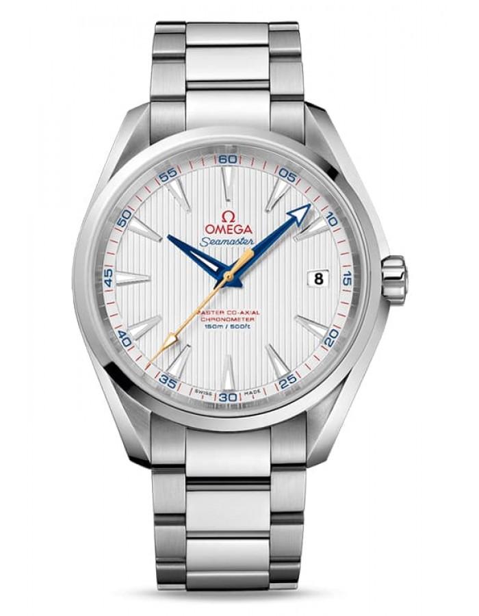 Omega Seamaster Aqua Terra Silver By Malabar Watches