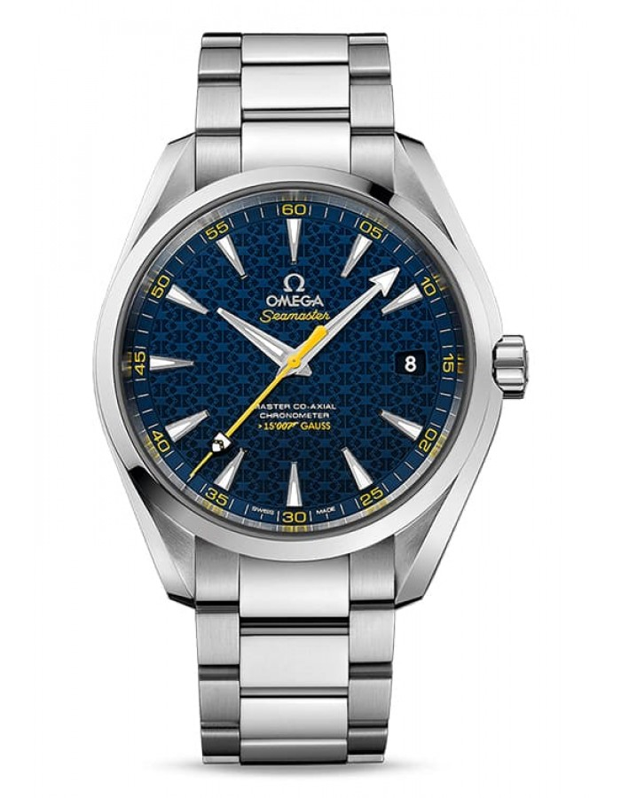 Omega Seamaster Aqua Terra Blue By Malabar Watches
