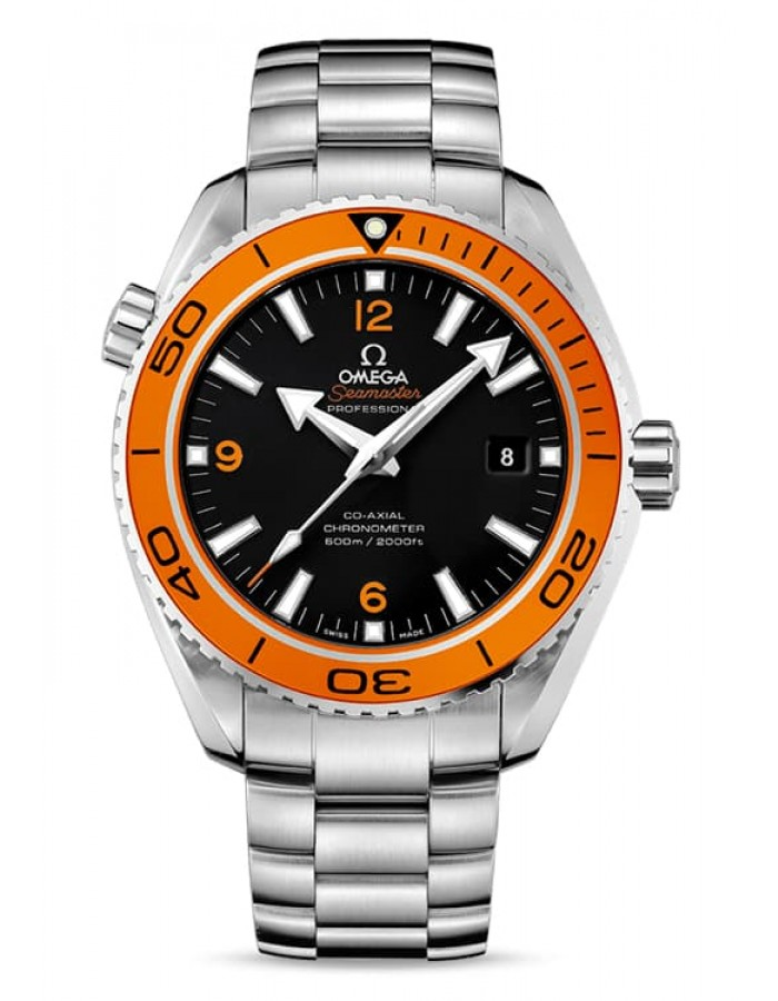 Omega Seamaster Steel Black By Malabar Watches