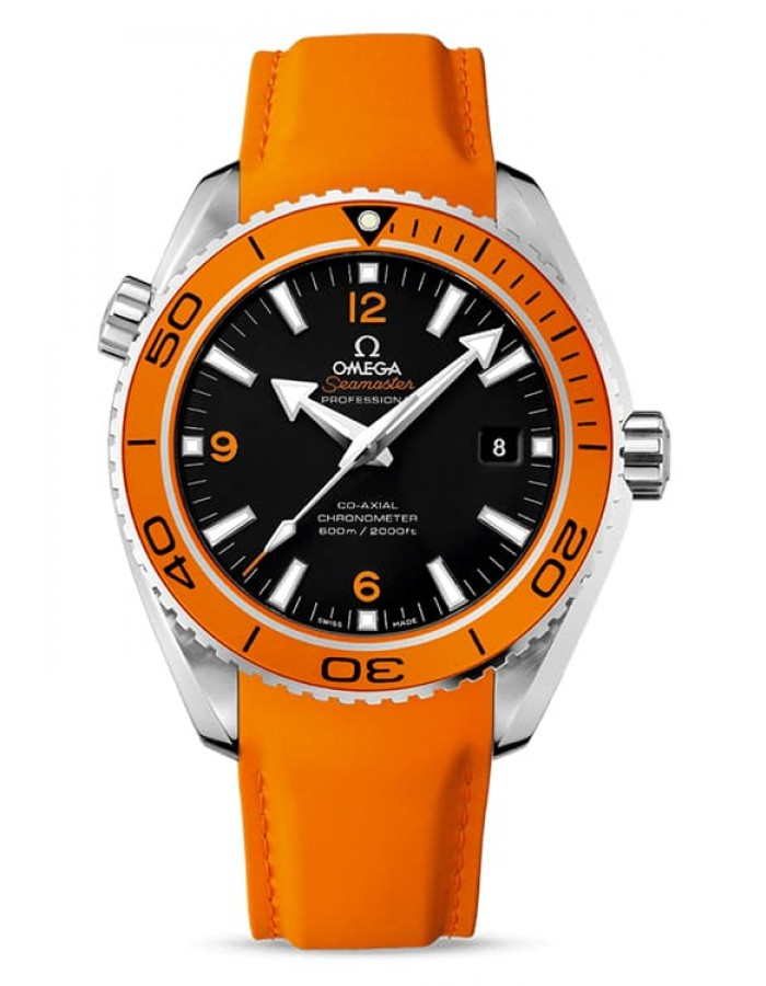 Omega Seamaster Planet Ocean Black By Malabar Watches