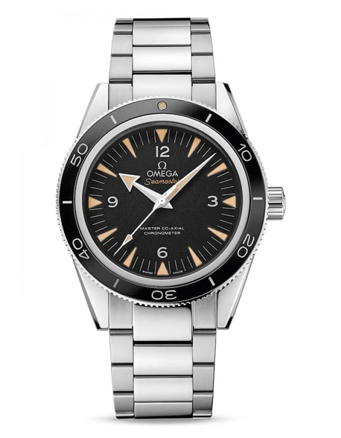 Omega Seamaster Ant-Magnetic Black By Malabar Watches