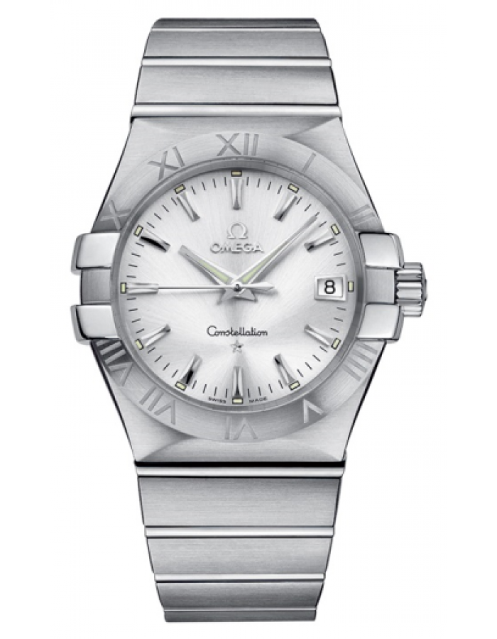 Omega Constellation Silver