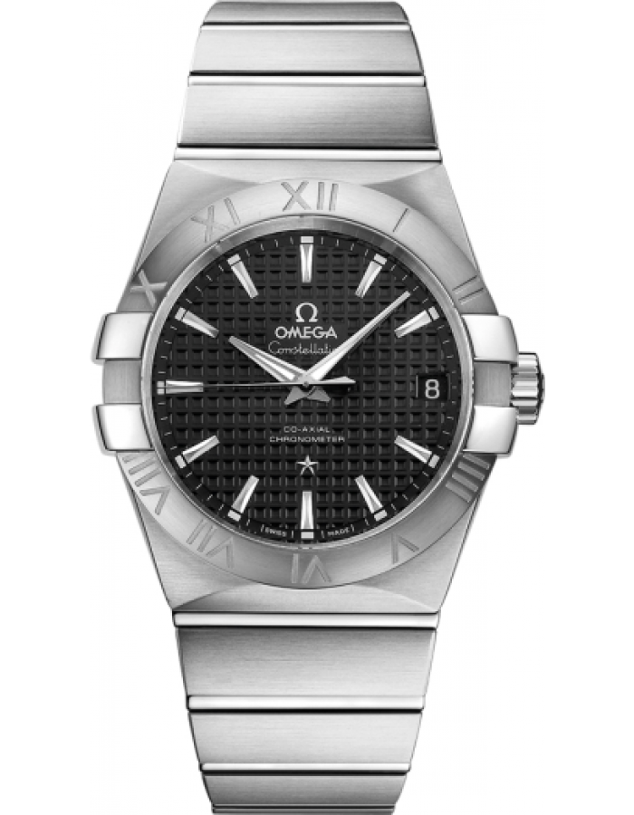Omega Constellation Black