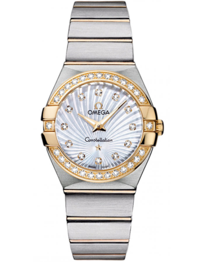 Omega Constellation White