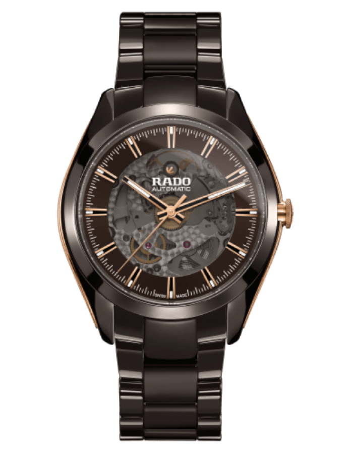 Rado Hyperchorme Ceramic Brown