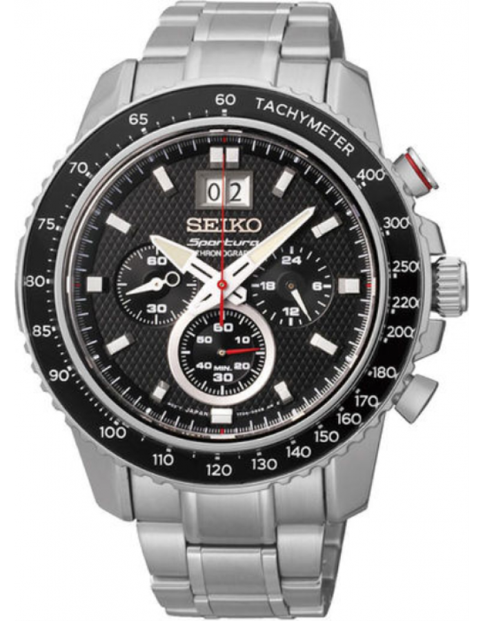 SEIKO  Men's Collection Steel BLACK