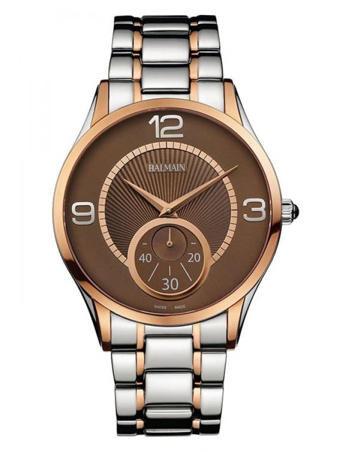 Balmain Classic R Grande Tradition Brown By Malabar Watches