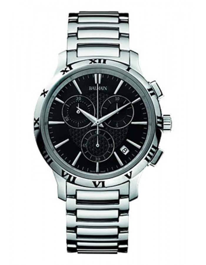 Balmain Classica Chrono Gent Black By Malabar Watches