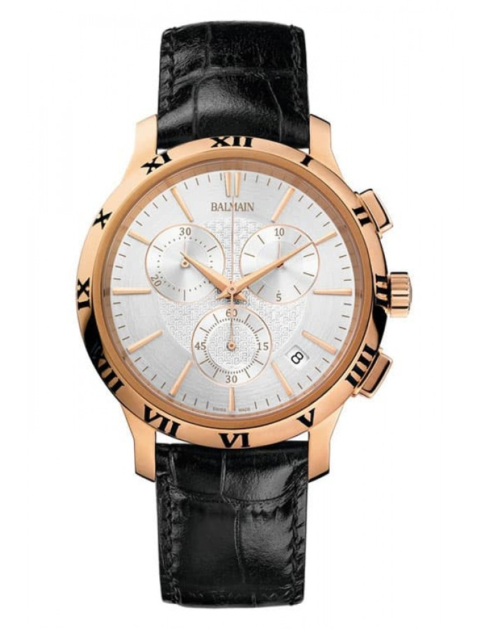 Balmain Classica Chrono Gent Silver By Malabar Watches