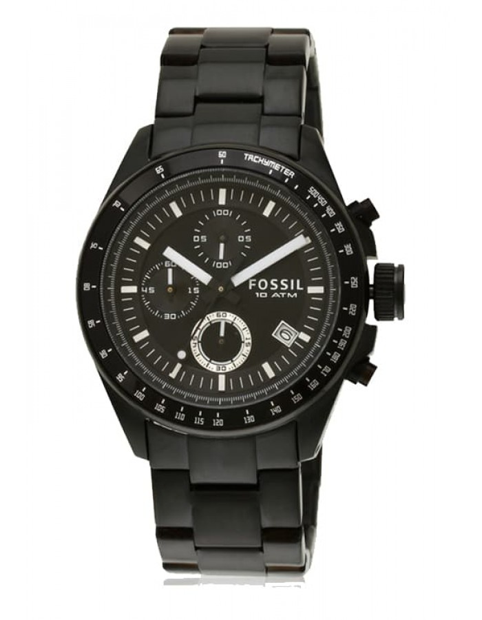 Fossil Decker Black By Malabar Watches