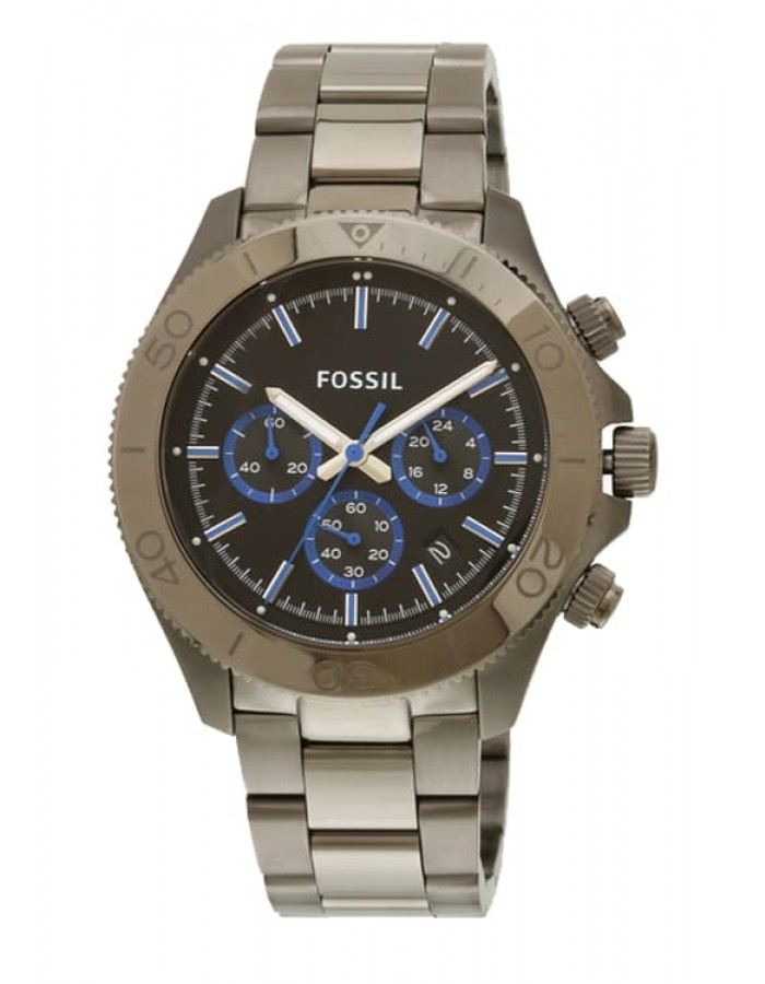 Fossil Traveler Black By Malabar Watches