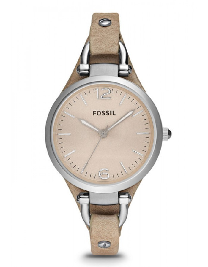 Fossil Georgia Leather By Malabar Watches