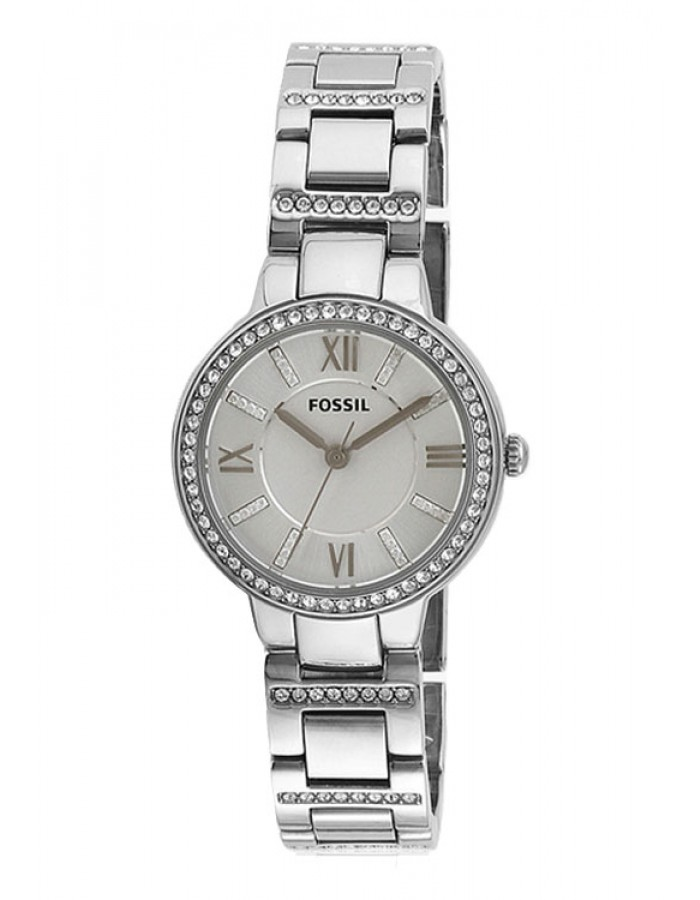 Fossil Virginia Steel White By Malabar Watches