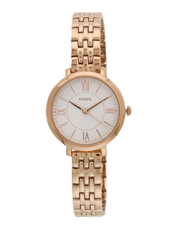Fossil Jacqueline Steel White By Malabar Watches
