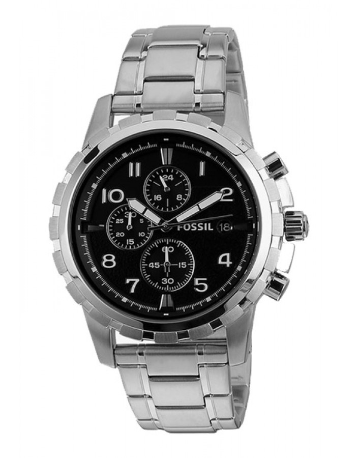 Fossil Dean Black 44Mm By Malabar Watches