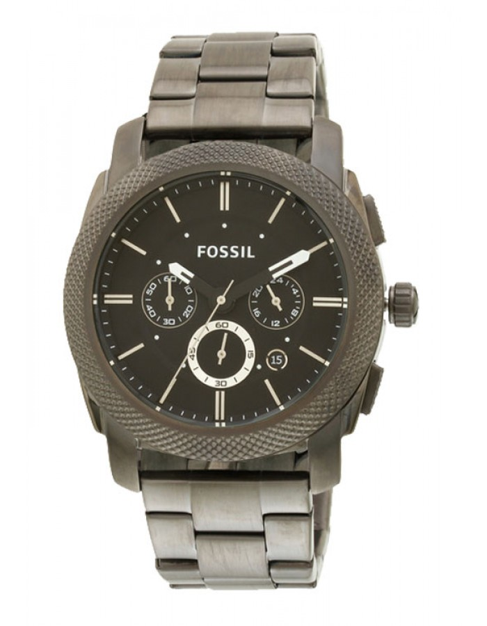 Fossil Machine Black By Malabar Watches