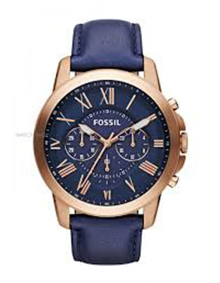 Fossil Fs4835 Blue By Malabar Watches