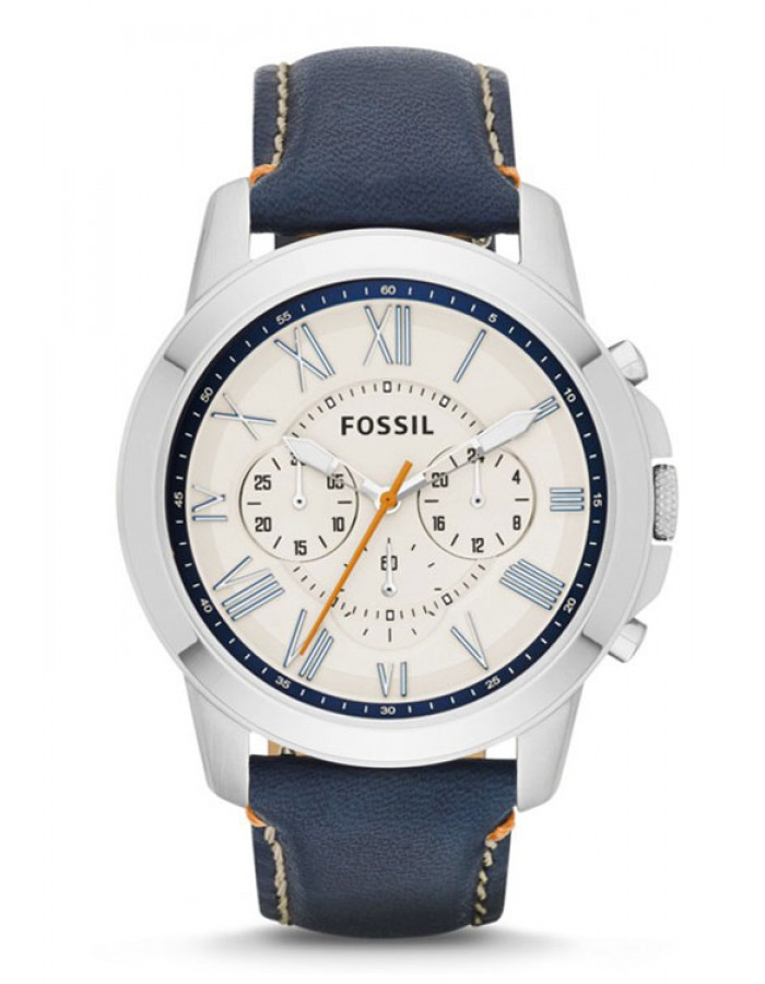 Fossil Grant Ivory By Malabar Watches