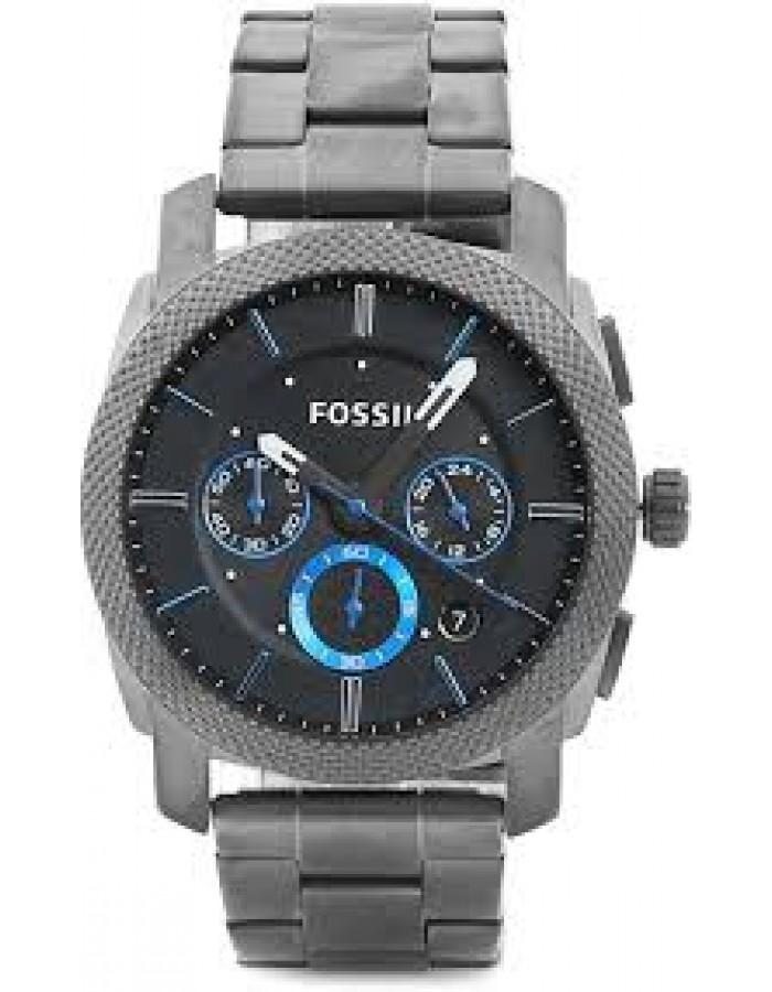 Fossil Machine Black By Malabar Watches
