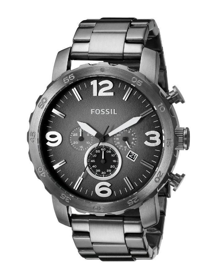Fossil Nate Steel By Malabar Watches
