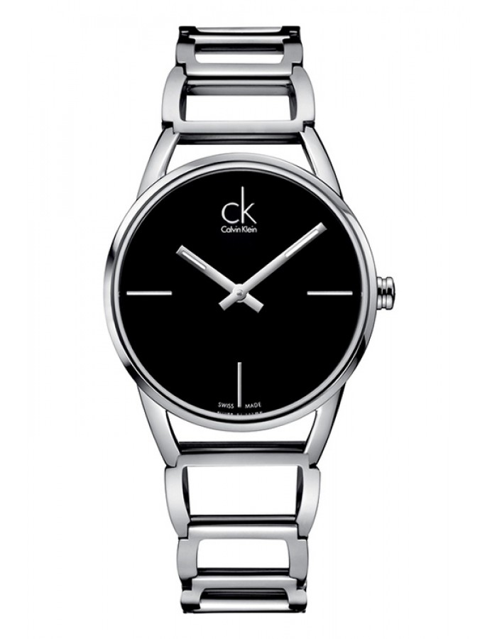 Calvin Klein Stately Silver Black By Malabar Watches