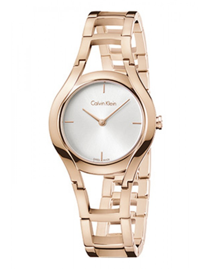 Calvin Klein Damenuhr Silver By Malabar Watches