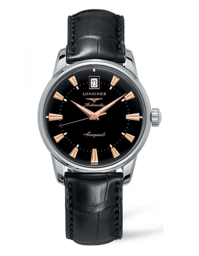 Longines L1.611.4.52.4 Black By Malabar Watches