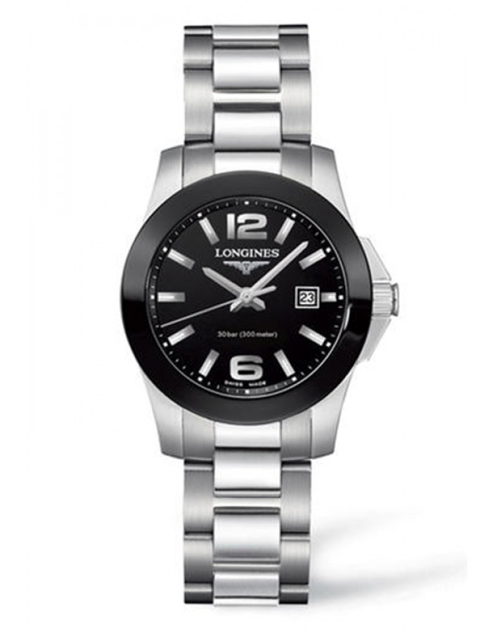 Longines L3.257.4.56.6 Black By Malabar Watches