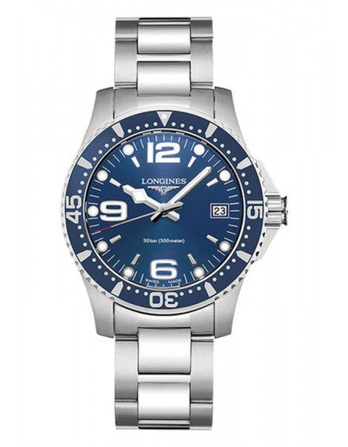 Longines  Hydro Conquest Blue By Malabar Watches