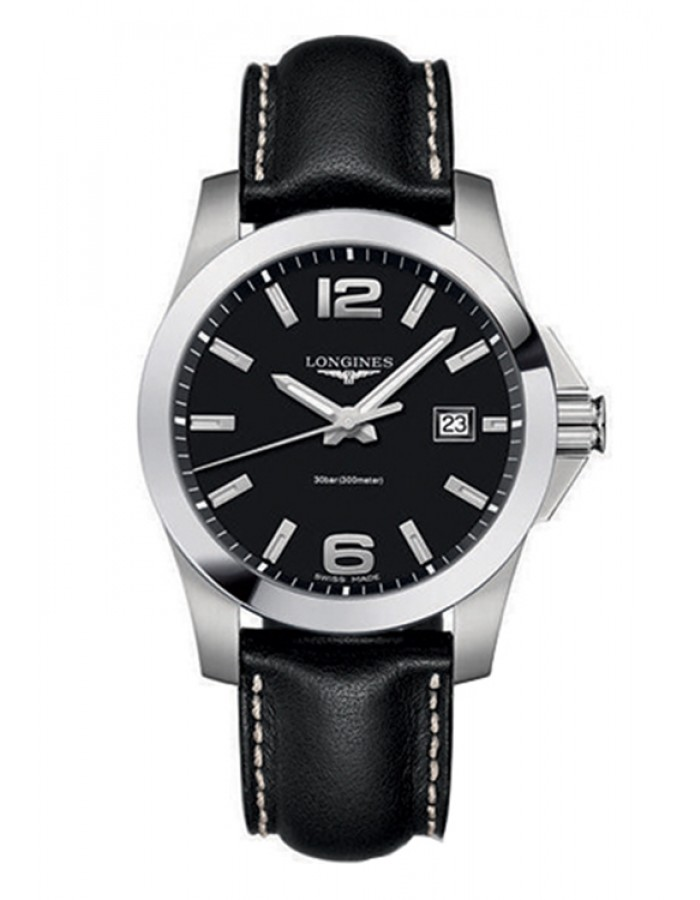 Longines L3.659.4.58.3 Black By Malabar Watches