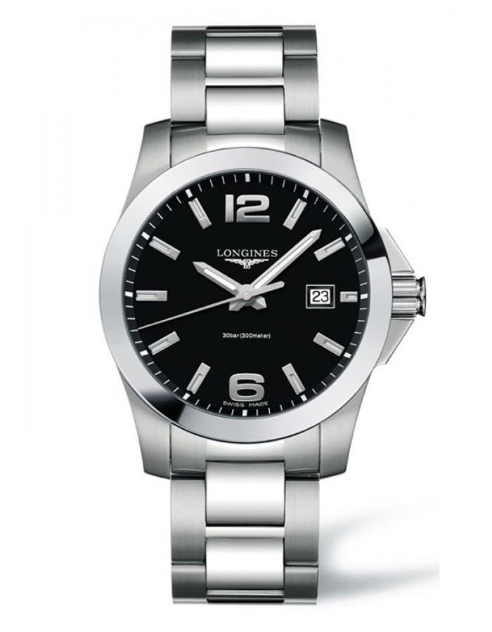 Longines L3.659.4.58.6 Black By Malabar Watches