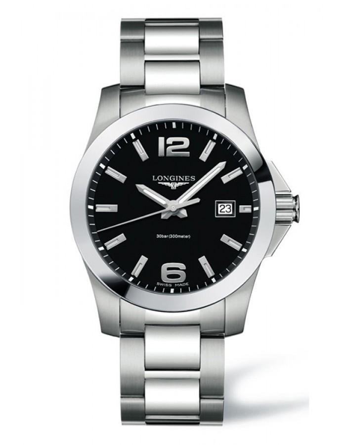 Longines L3.659.4.58.6 Black By Malabar Watches