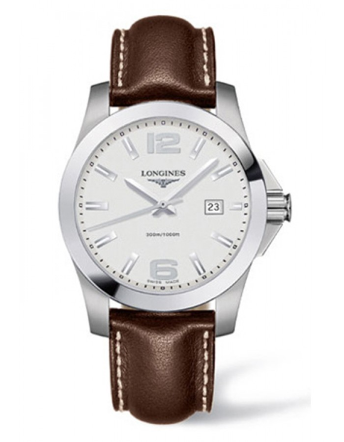 Longines L3.659.4.76.5 Silver By Malabar Watches