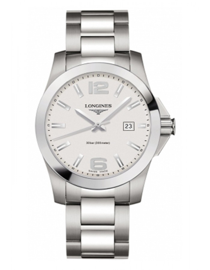 Longines L3.659.4.76.6 Silver By Malabar Watches