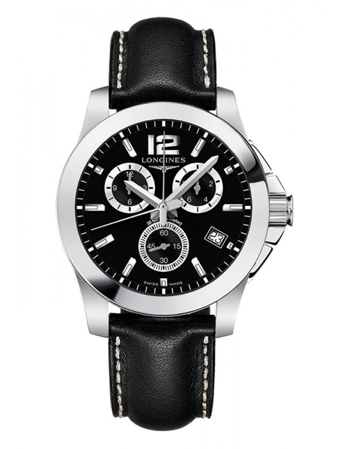 Longines L3.660.4.56.3 Black By Malabar Watches